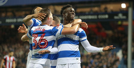 Idrissa Sylla celebrates his goal