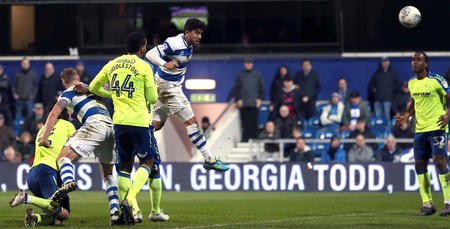 Massimo Luongo heads QPR level late on