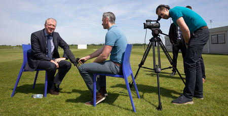 The new R's boss will return to Harlington this pre-season