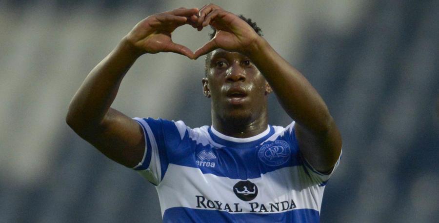 Yeni Ngbakoto celebrates his opening goal