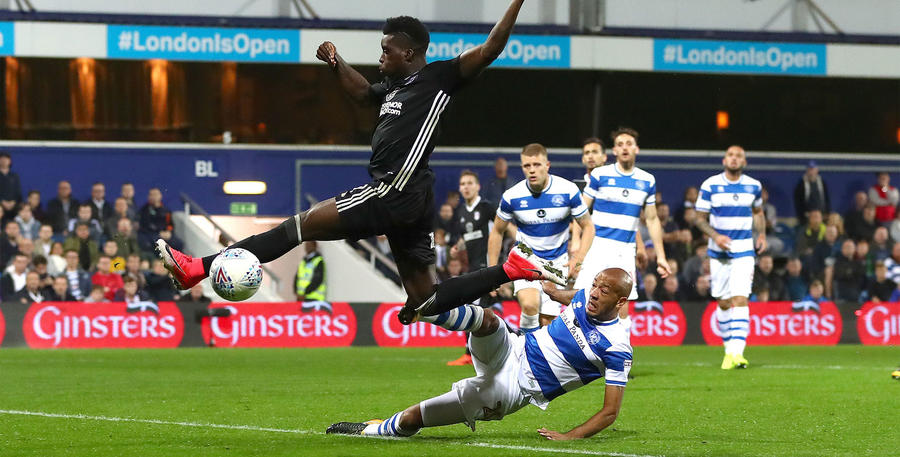 Alex Baptiste jumps in on Fulham's Sheyi Ojo
