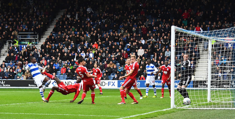Bright Osayi-Samuel equalises for QPR with his first R's goal