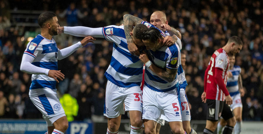 Lynch is mobbed following his goal